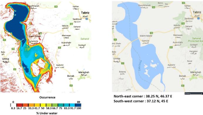 Lake  Urmia  89  layers  single image summary  from  2013-2017